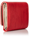 Chic Time | Portefeuille Guess Keaton Lizard Rouge  | Prix : 79,00 €