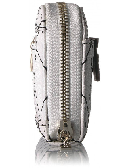 Chic Time | Pochette Guess Bobbi Bw Large Zip Around  | Prix : 99,00€