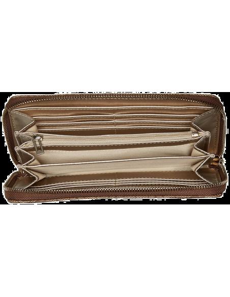 Chic Time | Pochette Guess Vikky Large Zip Around  | Prix : 119,00€