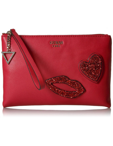 Chic Time | Sac Bandoulière Guess Ever After Rouge  | Prix : 159,00 €