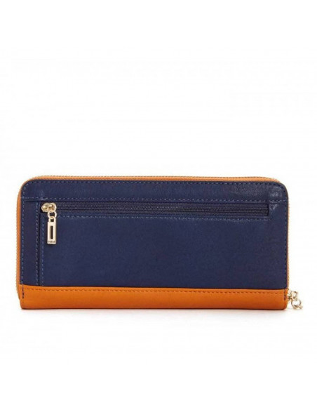 Chic Time | Portefeuille Guess Dinah Orange Bleu  | Prix : 109,00 €