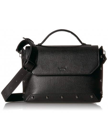 Chic Time | Sac a Main Guess Kaia Grain Noir  | Prix : 139,00 €