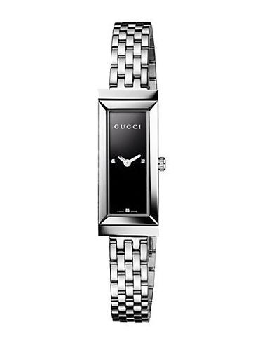 Chic Time | Montre Femme Gucci G-Frame Diamond Dial YA127504  | Prix : 695,00€