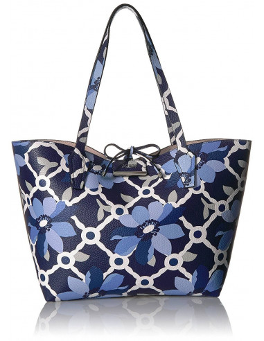 Chic Time | Sac à Main Guess Bobbi Floral Bleu  | Prix : 179,00 €