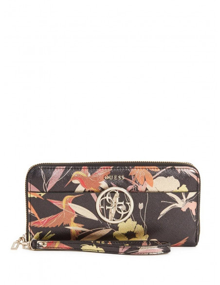 Chic Time | Portefeuille Guess Kamryn Floral  | Prix : 109,00€