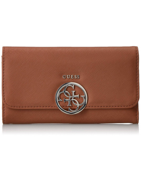 Chic Time | Portefeuille Guess Kamryn Marron  | Prix : 109,00€