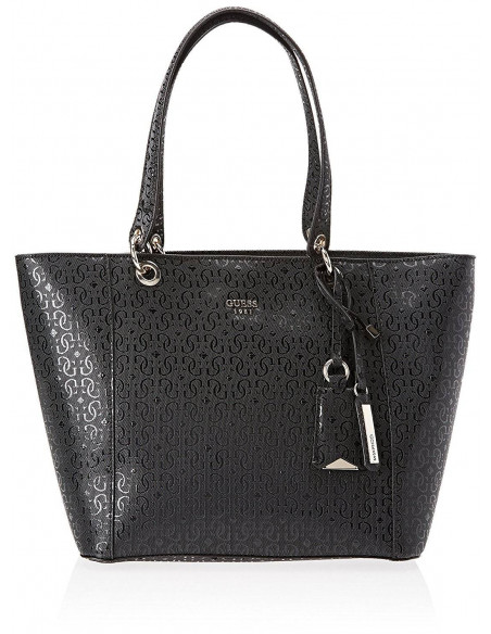 Chic Time | Sac à Main Guess Kamryn G-Shine Noir  | Prix : 149,00 €