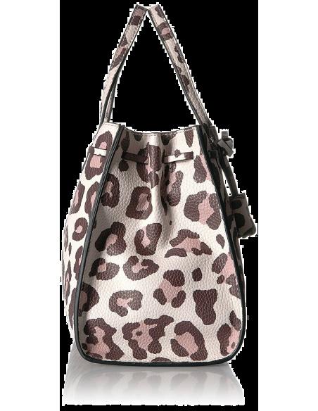 Chic Time | Sac à main Guess Leila Leopard Girlfriend  | Prix : 239,00€