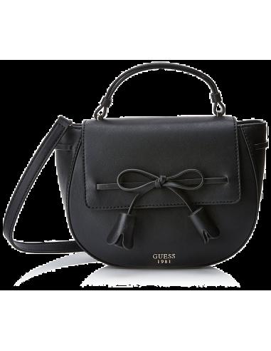Chic Time | Sac a Main Guess Leila Noir  | Prix : 189,00€