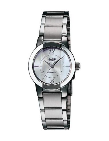 Chic Time | Montre Femme Casio LTP-1230D-7CDF Argent  | Prix : 29,10€