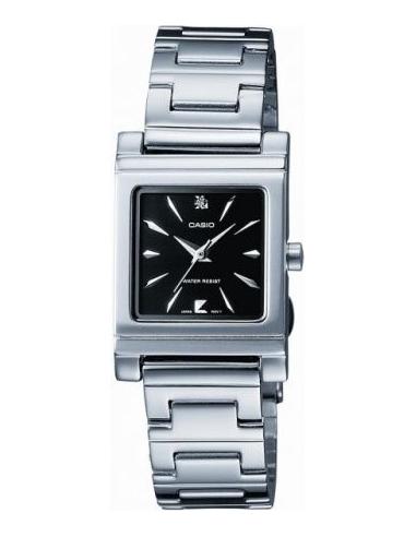 Chic Time | Montre Femme Casio LTP-1237D-1A2DF Argent  | Prix : 34,99€