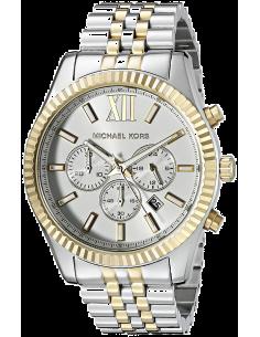 Chic Time | Montre Homme Michael Kors Lexington MK8344 Argent  | Prix : 181,30€