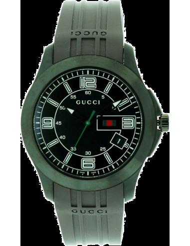 Chic Time | Montre Homme Gucci Black Rubber Classic YA126203  | Prix : 519,90€