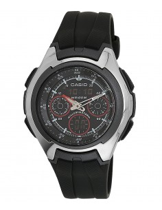 Chic Time | Montre Homme Casio Active Dial AQ-163W-1B2VDF  | Prix : 79,00 €