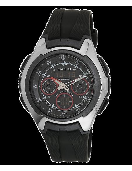 Chic Time   Montre Homme Casio Active Dial AQ-163W-1B2VDF    Prix : 79,00€