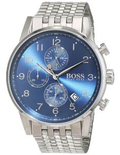 Chic Time   Montre Homme Hugo Boss Navigator 1513498 Argent    Prix : 299,25€