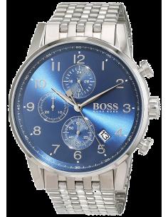 Chic Time | Montre Homme Hugo Boss Navigator 1513498 Argent  | Prix : 299,25€