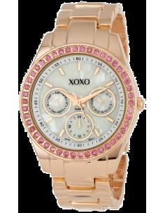 Chic Time   Montre Femme XOXO Rhinestone Accent XO5298A Bracelet Or Rose    Prix : 41,93€