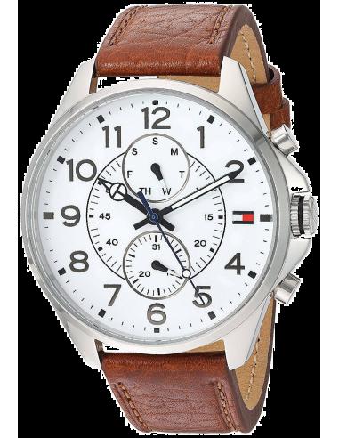 Chic Time   Montre Homme Tommy Hilfiger 1791274 Marron    Prix : 119,94€