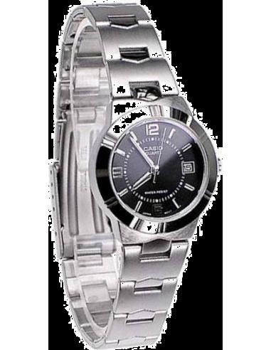 Chic Time   Montre Femme Casio LTP-1241D-1ADF Argent    Prix : 34,90€