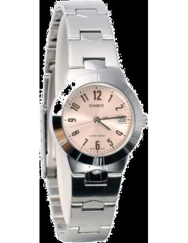 Chic Time | Montre Femme Casio LTP-1241D-4A3DF Argent  | Prix : 35,10€
