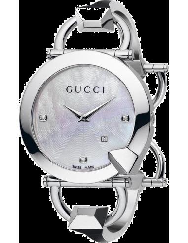 Chic Time   Montre Femme Gucci Chiodo YA122504    Prix : 799,00€