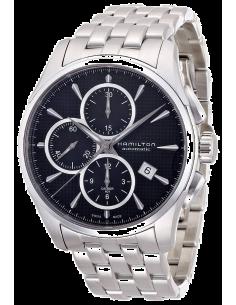 Chic Time | Montre Hamilton H32596131 Jazzmaster chronographe automatique cadran noir  | Prix : 1,305.90