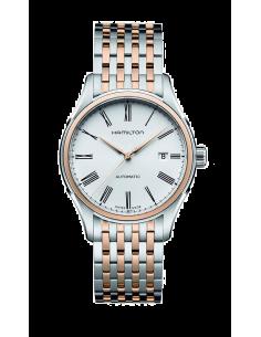 Chic Time   Montre Hamilton H39525214 Valiant auto acier et PVD or rose    Prix : 670,50€