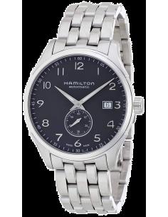 Chic Time   Montre Hamilton H42515135 Jazzmaster Maestro Petite Seconde acier cadran noir    Prix : 1,015.00