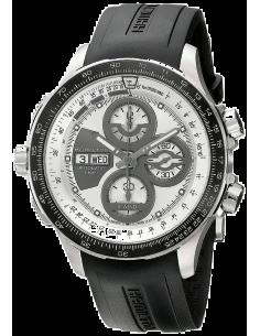 Chic Time | Montre Hamilton H77726351 Khaki Aviation X-Wind série limitée cadran gris bracelet caoutchouc  | Prix : 1,945.00