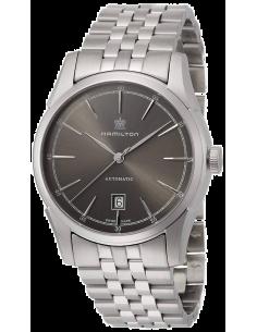 Chic Time | Montre Hamilton H42415091 Spirit of Liberty automatique 80 heures cadran gris ardoise bracelet acier  | Prix : 1,...