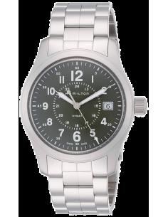 Chic Time | Montre Hamilton H68201163 Khaki Field automatique H-10 acier cadran vert 40 mm  | Prix : 445,00€