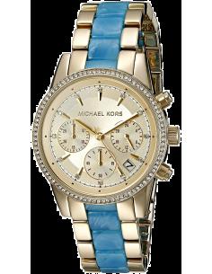 Chic Time | Montre Femme Michael Kors Ritz MK6328 Bleu  | Prix : 139,50€