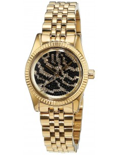 Chic Time | Montre Femme Michael Kors Lexington MK3300 Or Cadran à motifs  | Prix : 175,20 €