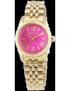 Chic Time | Montre Femme Michael Kors lexington MK3270 Dorée à Cadran rose bonbon  | Prix : 175,20€