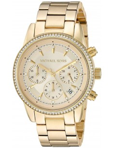 Chic Time | Montre Femme Michael Kors Ritz MK6356 Or  | Prix : 149,40 €