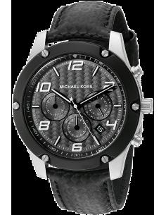 Chic Time | Montre Homme Michael Kors Caine MK8488 Noir  | Prix : 254,00€