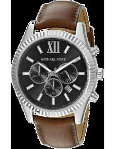 Chic Time | Montre Homme Michael Kors Lexington MK8456 Brun  | Prix : 209,00€