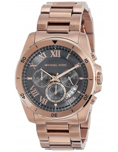 Chic Time | Montre Homme Michael Kors Brecken MK8563 Or Rose  | Prix : 279,00 €