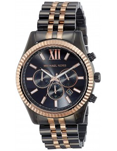 Chic Time | Montre Homme Michael Kors Lexington MK8561 Noir  | Prix : 224,10 €