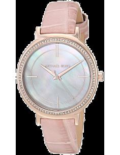 Chic Time | Montre Femme Michael Kors Cinthia MK2663 en cuir Rose  | Prix : 149,40€