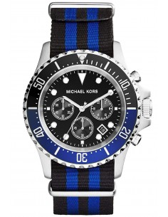Chic Time | Montre Homme Michael Kors MK8398 Bleu  | Prix : 349,00€