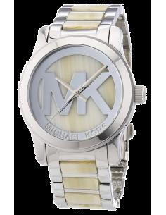 Chic Time | Montre Femme Michael Kors Runway MK5787 Bracelet en acétate beige et acier  | Prix : 211,65€