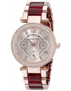 Chic Time | Montre Femme Michael Kors Parker MK6239 Or Rose  | Prix : 159,99 €