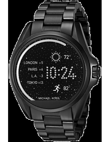 Chic Time   Montre Connectée Michael Kors Access Bradshaw Smartwatch MKT5005 Noir    Prix : 349,00€