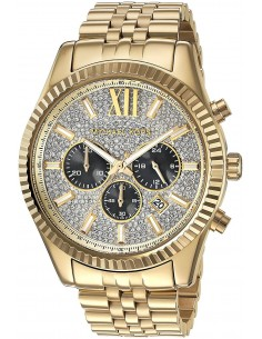 Chic Time | Montre Homme Michael Kors Lexington MK8494 Or  | Prix : 349,00 €