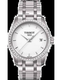 Chic Time | Montre Femme Tissot Couturier T0352106101100  | Prix : 1,305.00