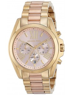Chic Time | Montre Femme Michael Kors Bradshaw MK6359 Or Rose  | Prix : 260,10 €