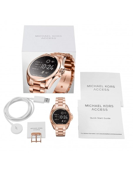 Chic Time | Montre Connectée Femme Michael Kors Access MKT5004 Or Rose  | Prix : 349,00 €
