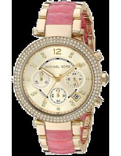 Chic Time | Montre Femme Michael Kors Parker MK6363 Rose  | Prix : 287,10€